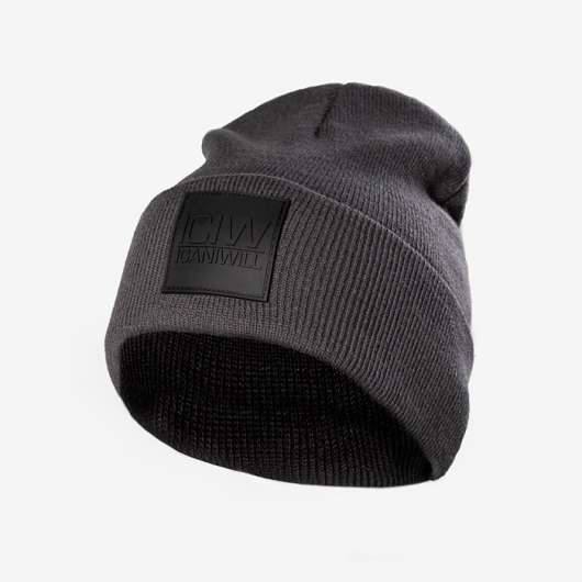 Folded Beanie, Anthracite