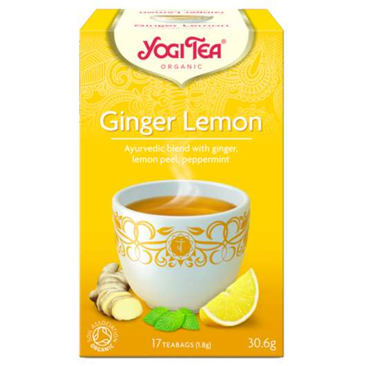Ginger-Lemon, 17 tepåsar