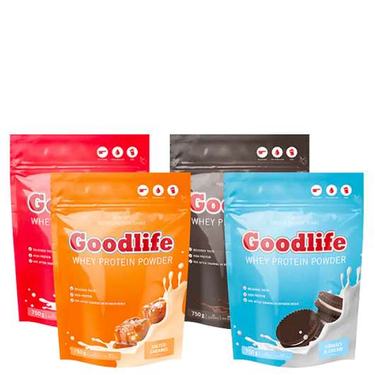 Goodlife Protein Powder Mix&Match, 4x750g