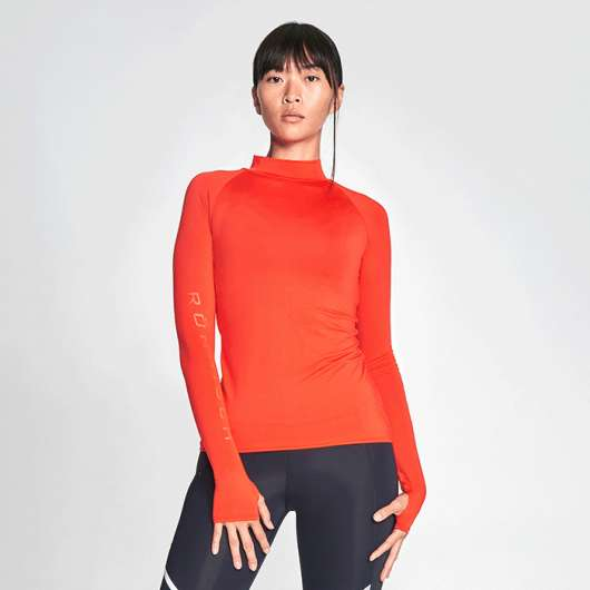 High Collar Top, Grenadine