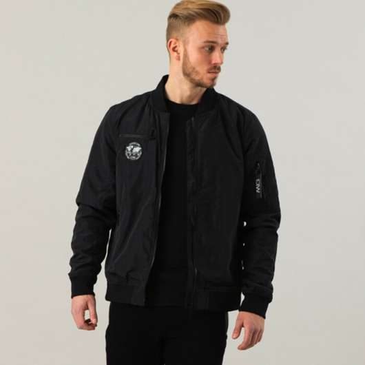 ICIW Bomber Jacket, Black