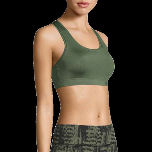 Iconic Sports Bra, Northern Green