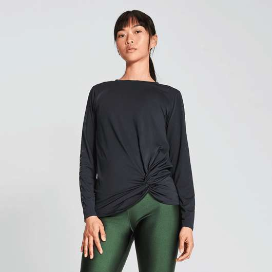 Jolie Knot Long Sleeve, Black