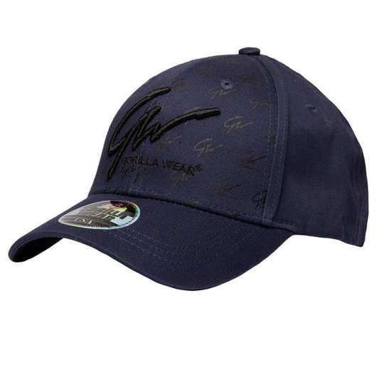 Julian Cap, Navy Blue/Black