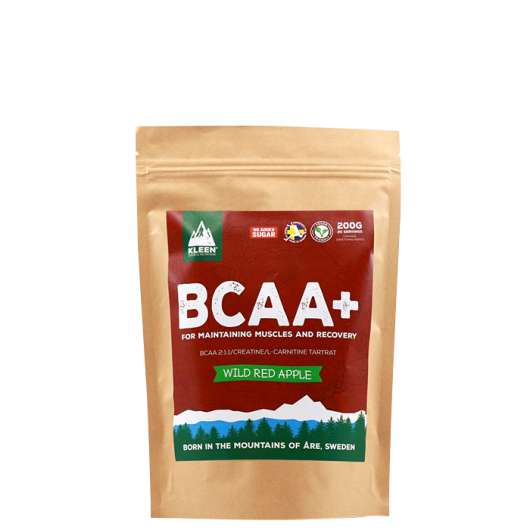 Kleen Bcaa+ Red Apple, 200 g