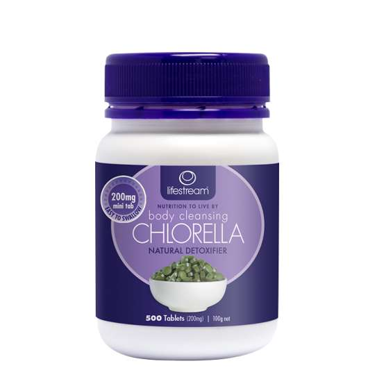 LifeStream Chlorella, 500 tabletter