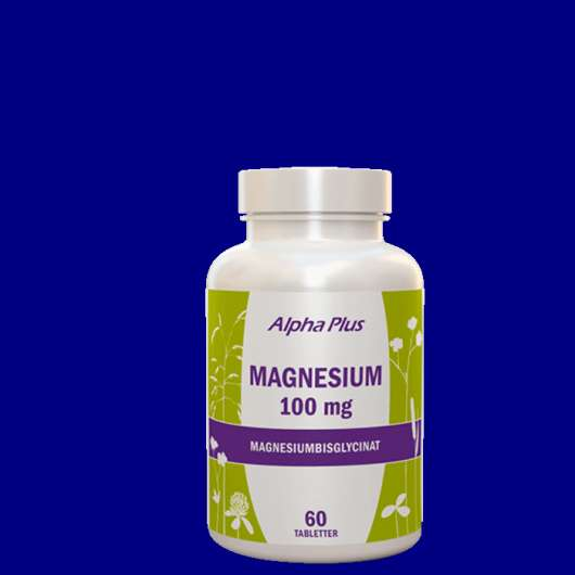 Magnesium 100 mg, 60 tabletter