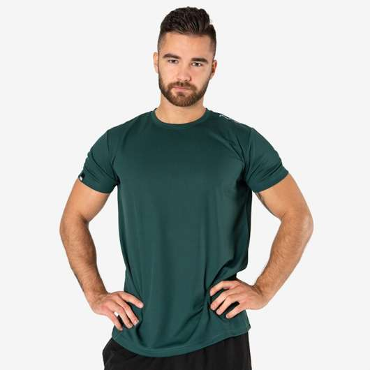 Mesh T-shirt v2, Hunter Green