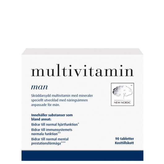 Multivitamin Man, 90 tabletter