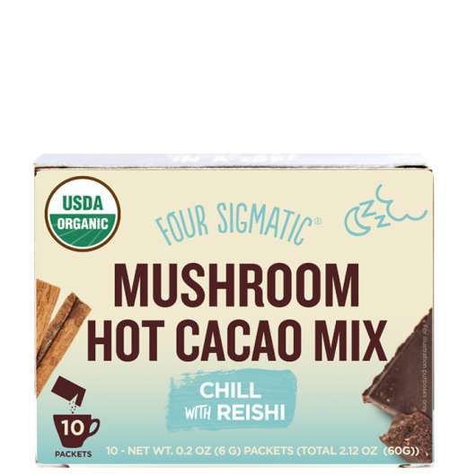 Mushroom Hot Cacao Mix with Reishi, 10 paket
