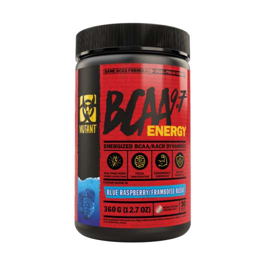Mutant BCAA 9.7 Energy, 30 servings