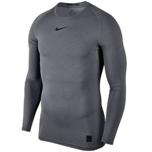 Nike Pro Comp Top L/S, Grey