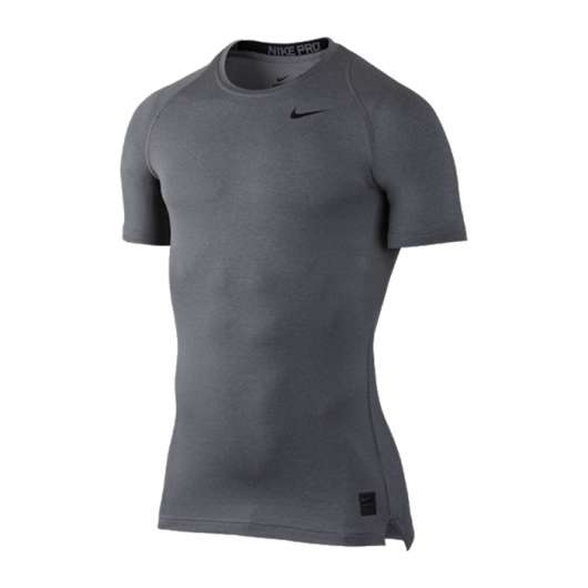 Nike Pro Comp Top S/S, Grey