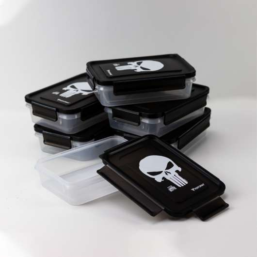 Perfect Meal Containers, Punisher, 3 containers