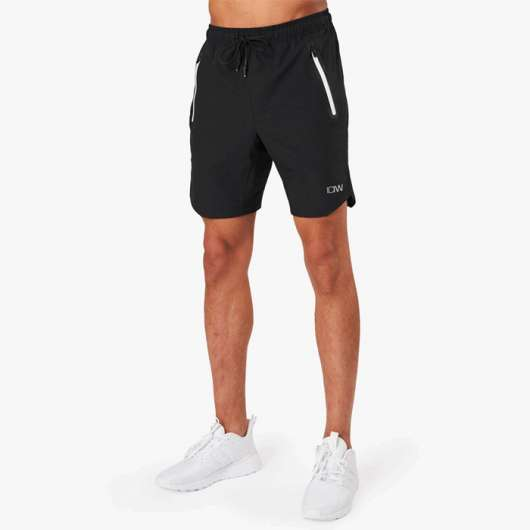 Perform 20 cm Shorts, Black