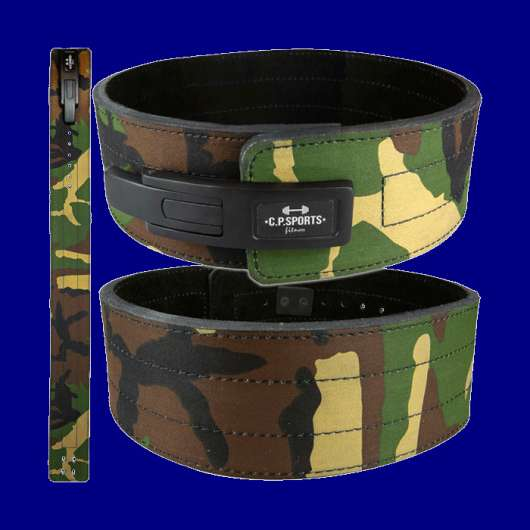 Powerlifting Lever Belt, Camo