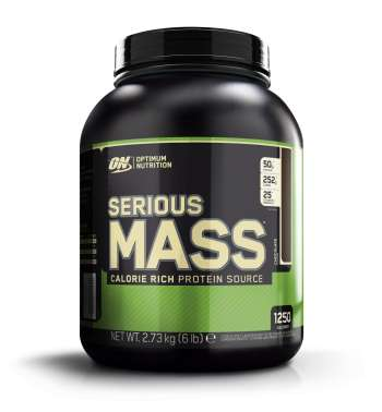 Serious Mass, 2727 g, Strawberry