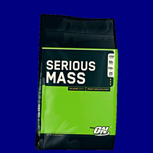 Serious Mass, 5455 g, Cookies & Cream