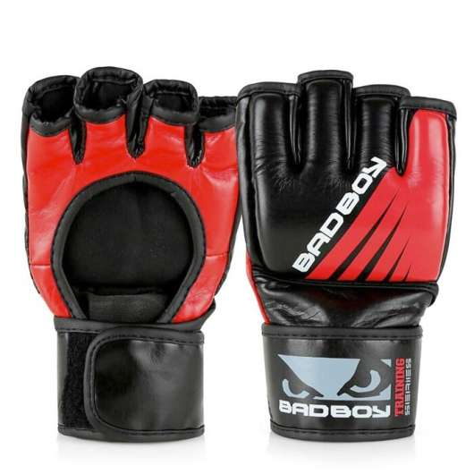 Training Series Impact MMA Gloves, Black/Red