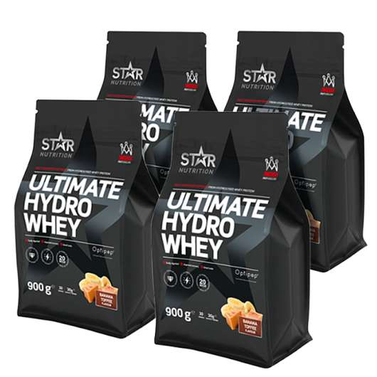 Ultimate Hydro Whey Mix&Match, 4x900g