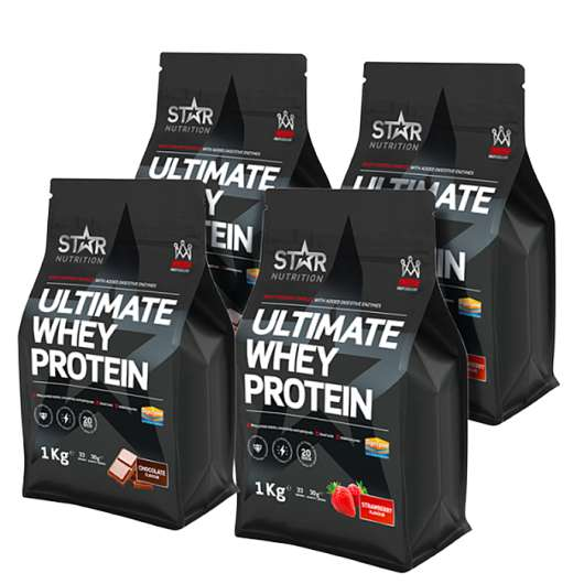 Ultimate Whey Mix&Match, 4x1kg