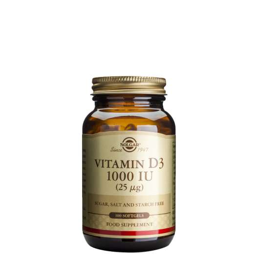 Vitamin D 1000 IU, 100 softgels