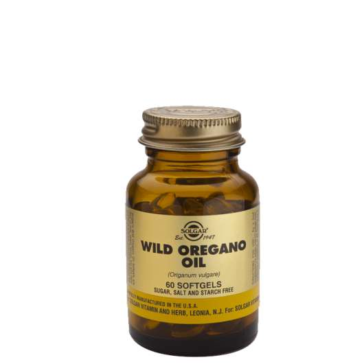 Wild Oregano oil, 60 softgels