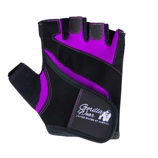 Women´s Fitness Gloves, black/purple